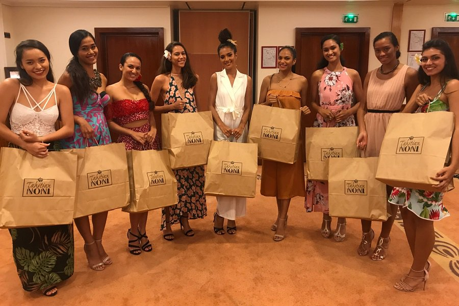 Miss Tahiti contestants